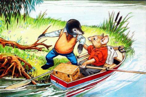 Wind In The Willows - Ratty and Mole's Picnic by Nadir ...