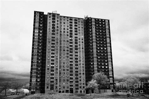 1960s Architecture High Rise Tower Blocks Of Social ...