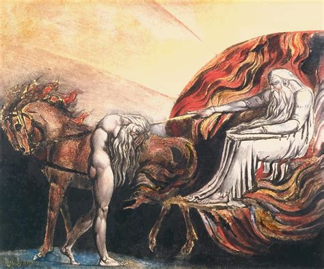'God Judging Adam', William Blake | Tate
