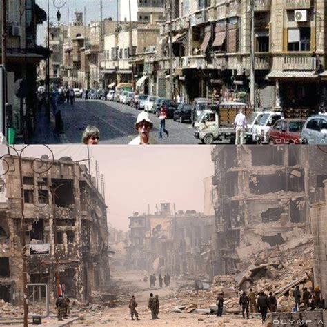 Devastating Before-and-After War Images Of Syria's Beloved ...