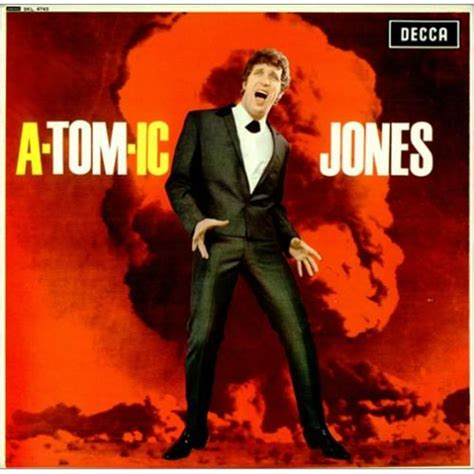 A-Tom-Ic Jones-Tom Jones Decca record album cover. | Buen ...