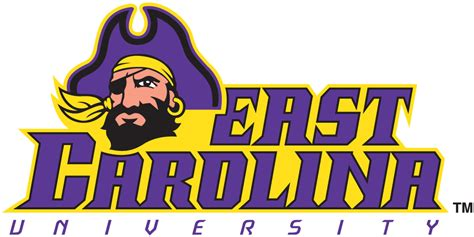 East Carolina Pirates Wordmark Logo - NCAA Division I (d-h) (NCAA d-h ...