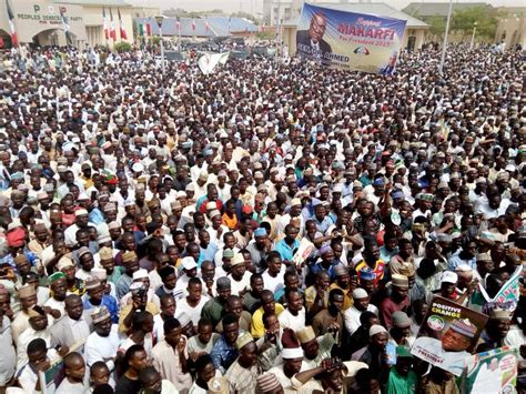 Atiku Reacts To Huge Turnout At PDP Mega Rally In Buhari's ...