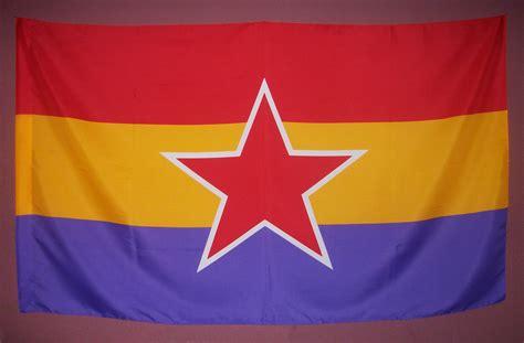 Bandera republicana de la UJCE