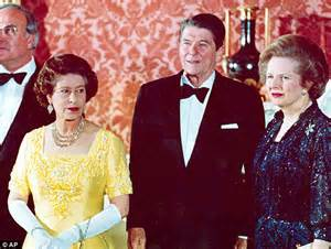How Ronald Reagan asked Margaret Thatcher for fashion ...