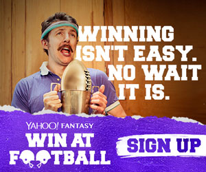 Yahoo Fantasy Football: Winning isn't easy. No wait it is.