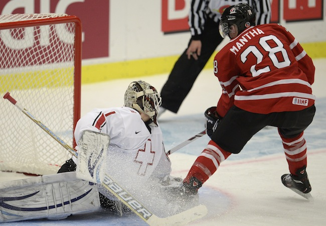 World junior championship: Canada dominance against Swiss shows in scoring chance numbers