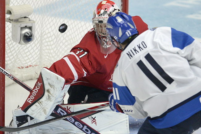 World junior championship: Canada ousted by fleet Finland, now facing Russia for bronze