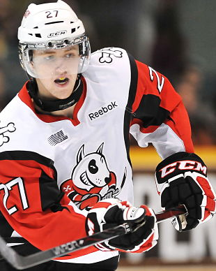 Niagara IceDogs work double-hard to nab Game 1 in London; OHL post-game questions