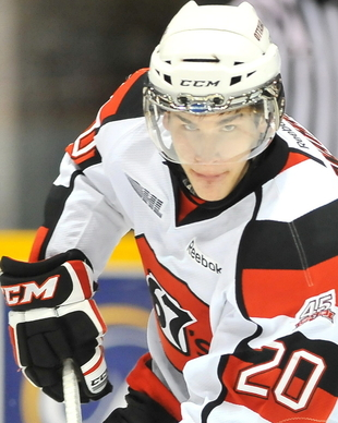 Ottawa 67′s Sean Monahan, top prospect for 2013 NHL draft, steps up in critical contest