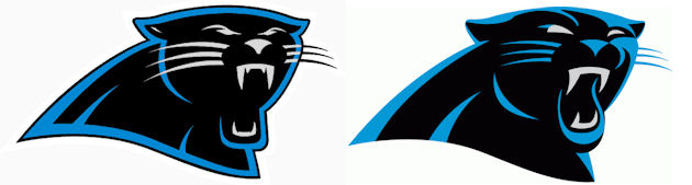 The Carolina Panthers have a new logo