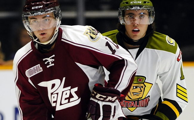 NHL draft tracker: Eric Cornel, Peterborough Petes
