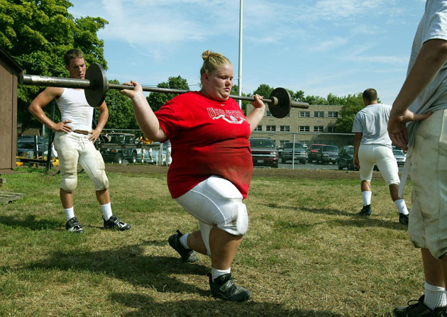 Nick Mangold's sister makes Olympic weightlifting team