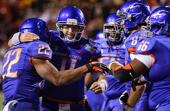 Boise State ties a bittersweet ribbon on its almost-perfect coming of age