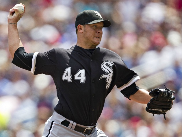 Closing Time: Jake Peavy sparks Pale Hose pushoff; Daniel Bard escapes in Minnesota