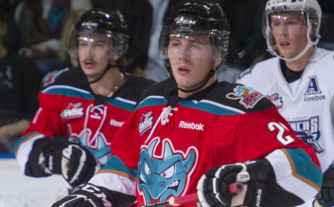 """Kelowna's """"best crowd since '09″ helps Rockets erase three-goal deficit and earn 5-4 Game 1 victory over Portland"""