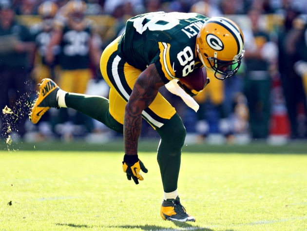 Injury Wrap: Jermichael Finley and Aaron Hernandez play the waiting game
