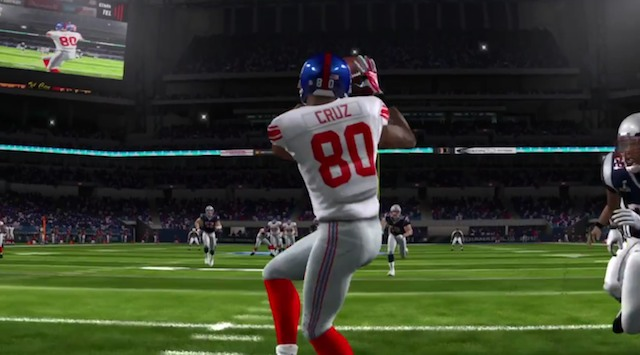 Giants defeat Patriots in Madden's Super Bowl simulation