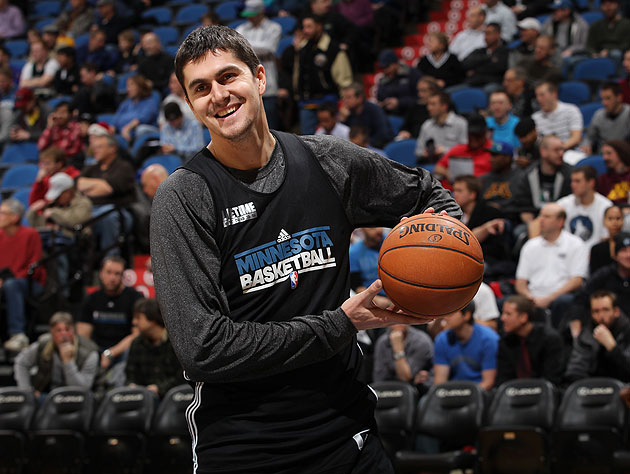 Rick Adelman joins the rest of us in not having much faith in Darko Milicic, which is a bummer
