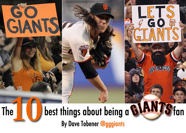 The 10 best things about being a Giants fan