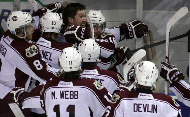 Peterborough Petes become 4th OHL team to surmount 3-0 series deficit, rallying around Hunter Garlent