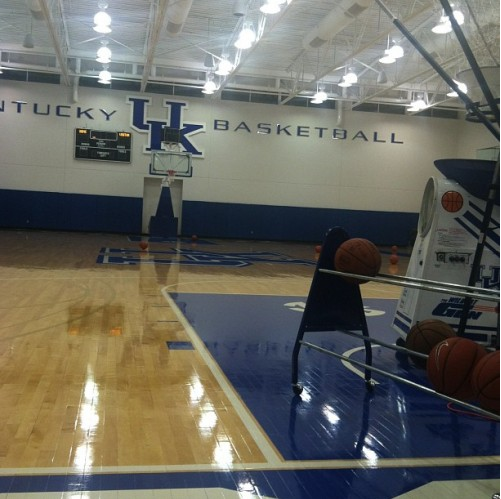 Alex Poythress works out following Louisville's championship win
