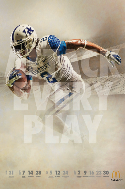 Kentucky football posters released