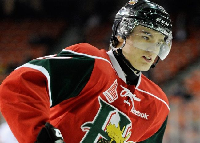 Halifax Mooseheads' Jonathan Drouin gets highlight-reel hat trick in first game of MacKinnon's absence (VIDEO)