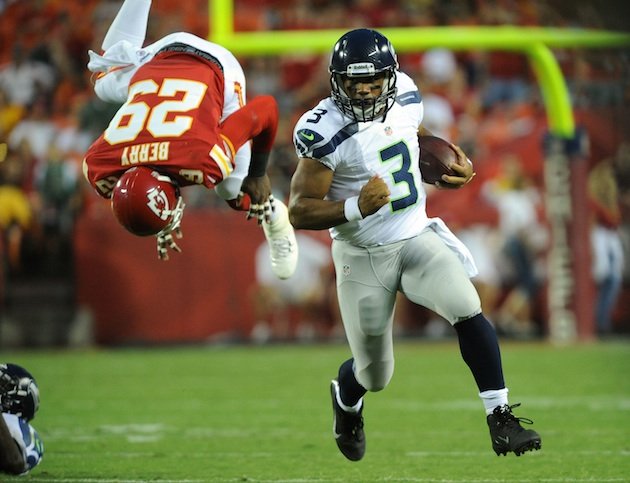 Spin Doctors: Russell Wilson vs. Andrew Luck