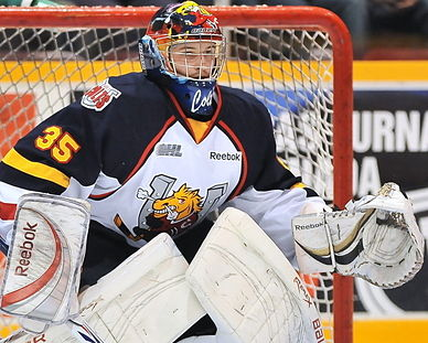 Barrie Colts' Mathias Niederberger put education first before schooling OHL snipers