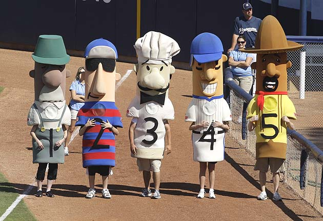 Italian Racing Sausage stolen during curling and beer-tasting party! Mustard reward offered for missing Milwaukee Brewers mascot