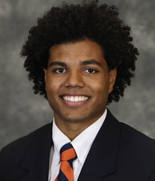 Virginia safety Joseph Williams is on a hunger strike for university workers