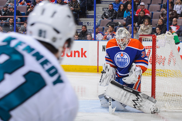 Ben Scrivens makes history with 59-save shutout versus Sharks