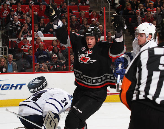 Thursday's Three Stars: Staal saves Canes; Wisniewski breaks ankle