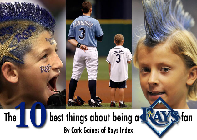 The 10 best things about being a Rays fan
