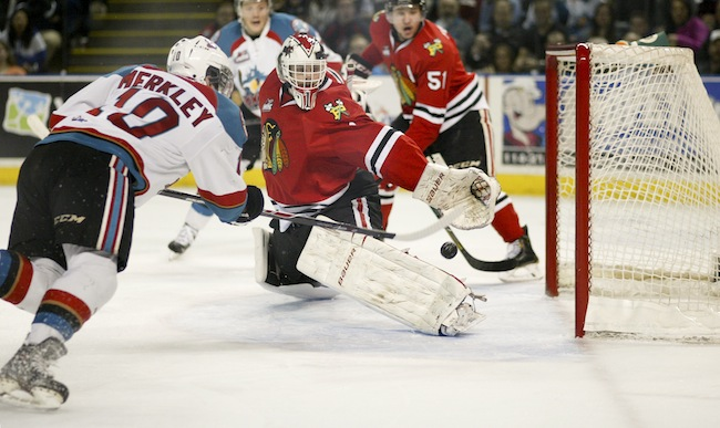 Portland scores four unanswered goals against Kelowna to even WHL Western Conference final