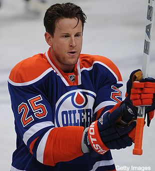 After second suspension, Oilers' Andy Sutton vows to butt-check