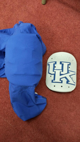 Kentucky to wear custom thigh pads at Mississippi State