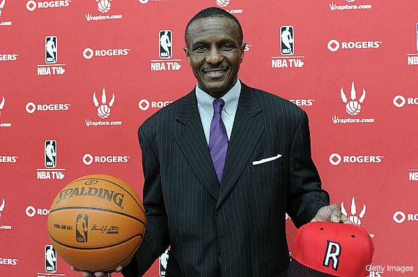 Dwane Casey put a 1300-lb boulder in the Raptors locker room