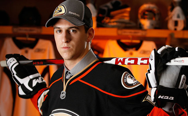 Ducks prospect Kerdiles hit with eligibility issues in the NCAA