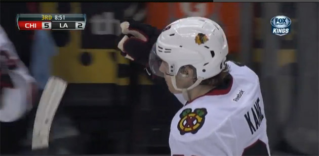 Tearful Patrick Kane honors late grandfather with dominant game for Blackhawks