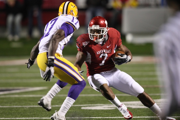 Zone read: SEC defense beware, Knile Davis is back and better than before