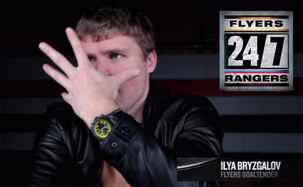 Did the HBO '24/7′ 'Universe' ruin Ilya Bryzgalov, Flyers' confidence in him?