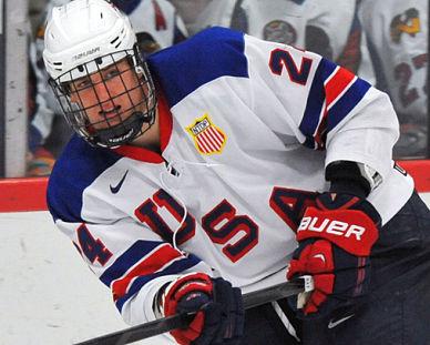 NHL draft tracker: Michael McCarron, U.S. under-18 team