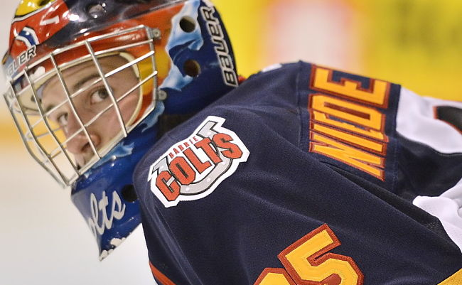 Barrie Colts' Mathias Niederberger stops 42 on a night of great goaltending: Friday's 3 Stars