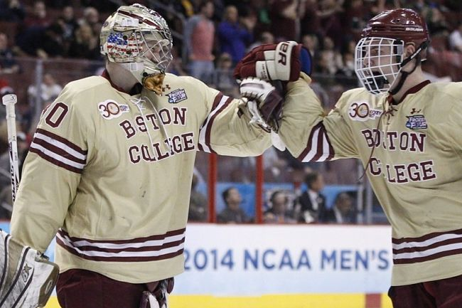 NHL draft tracker: Thatcher Demko, Boston College Eagles