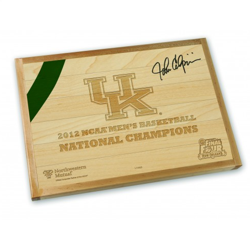 Auction for pieces of UK national championship floor starts Oct. 11