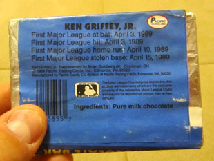 Why I've saved a Ken Griffey Jr. chocolate bar for almost 20 years