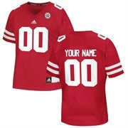 Nebraska Cornhuskers Custom Replica Football Jersey - Red