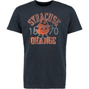 Men's '47 Brand Navy Blue Syracuse Orange Est. Vintage Scrum T-Shirt